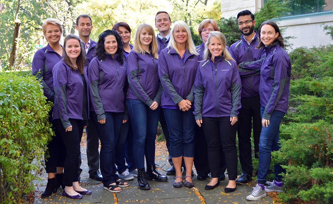 Northwestern Reunion staff